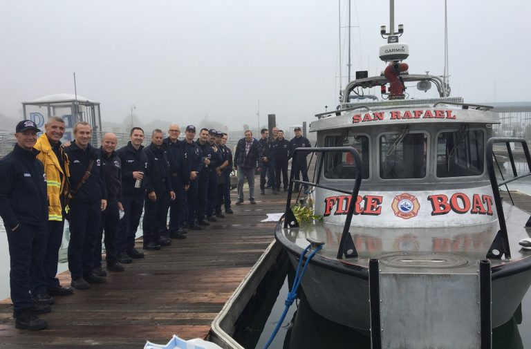 The SR Fire Foundation raised funds for San Rafael's First Fire Boat